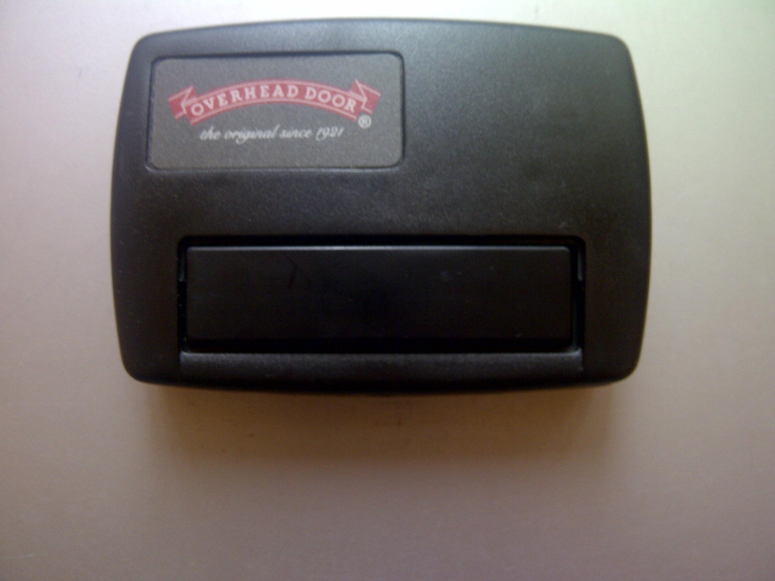 & My Overhead Door Opener Doesn\u0027t Work with this Universal Remote