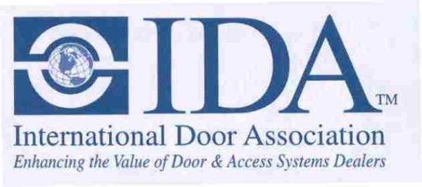 International Door Association Accredited
