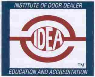 IDA Certified garage door technician
