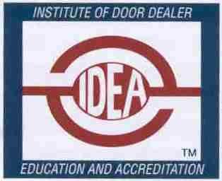 IDA Certified garage door technician