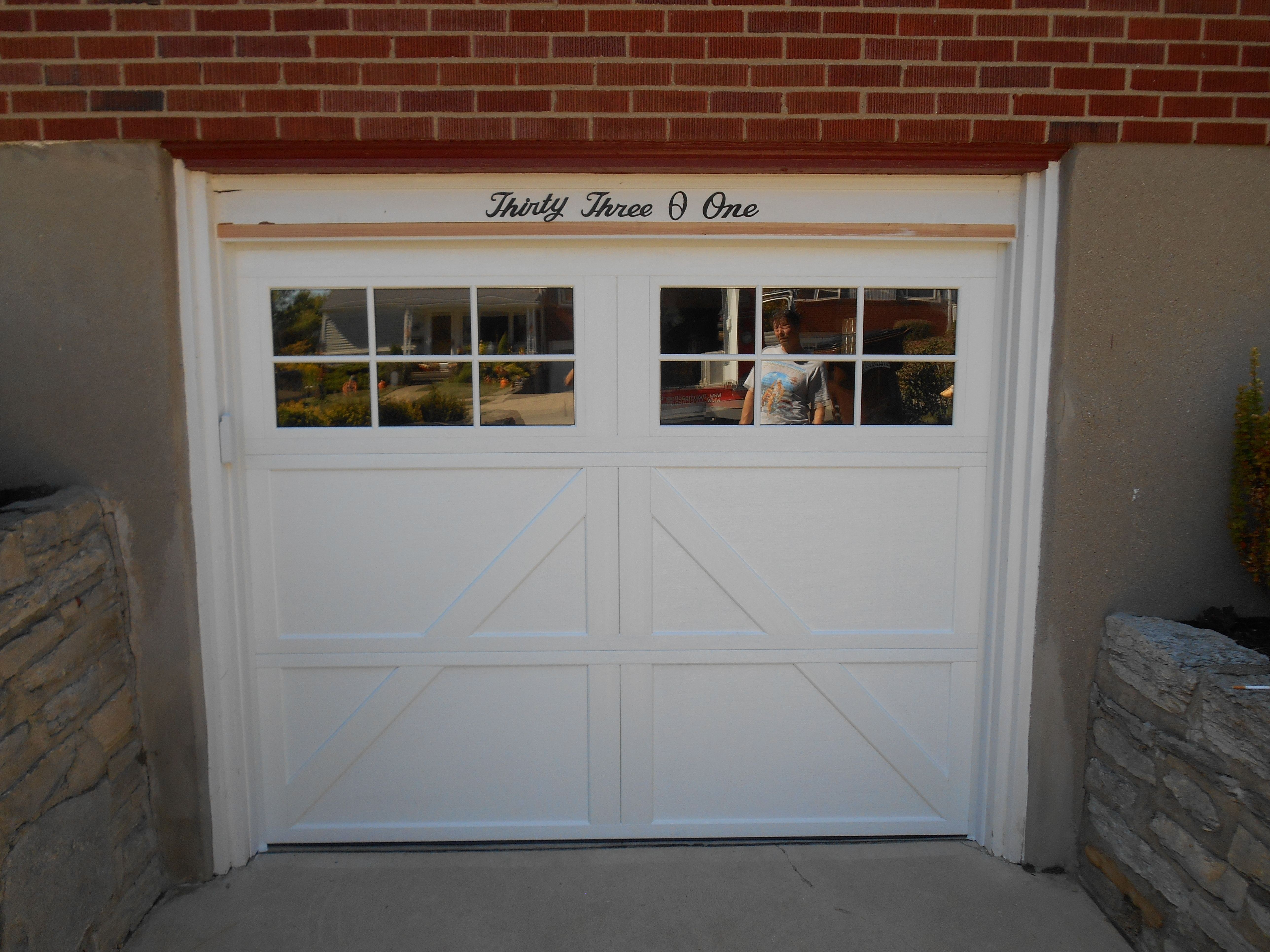 Carriage House Collection 303 series with 12 window design