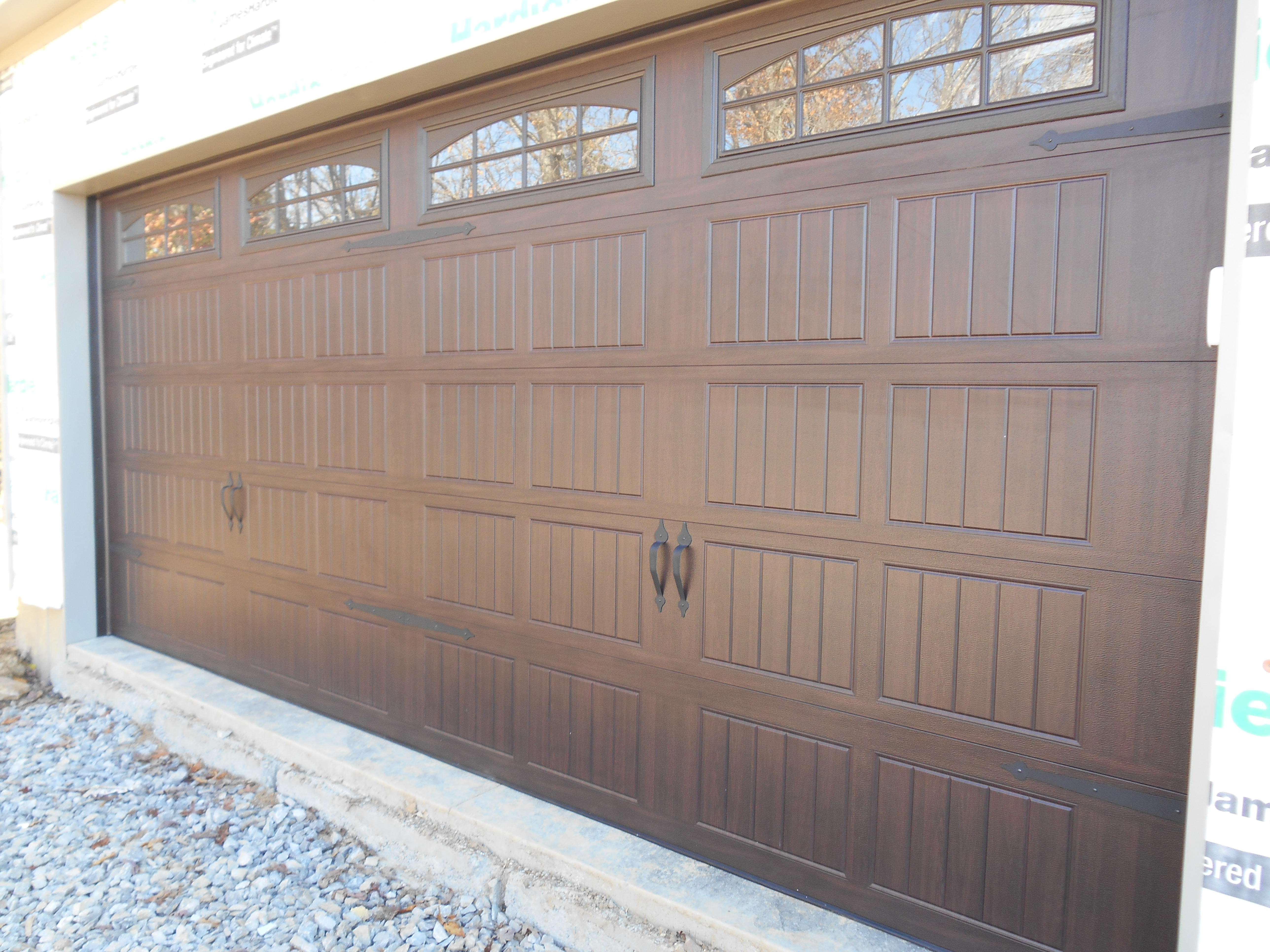 Thermacore Collection 199 Series Color: Walnut Wood Grain Stockton II  Window Trim