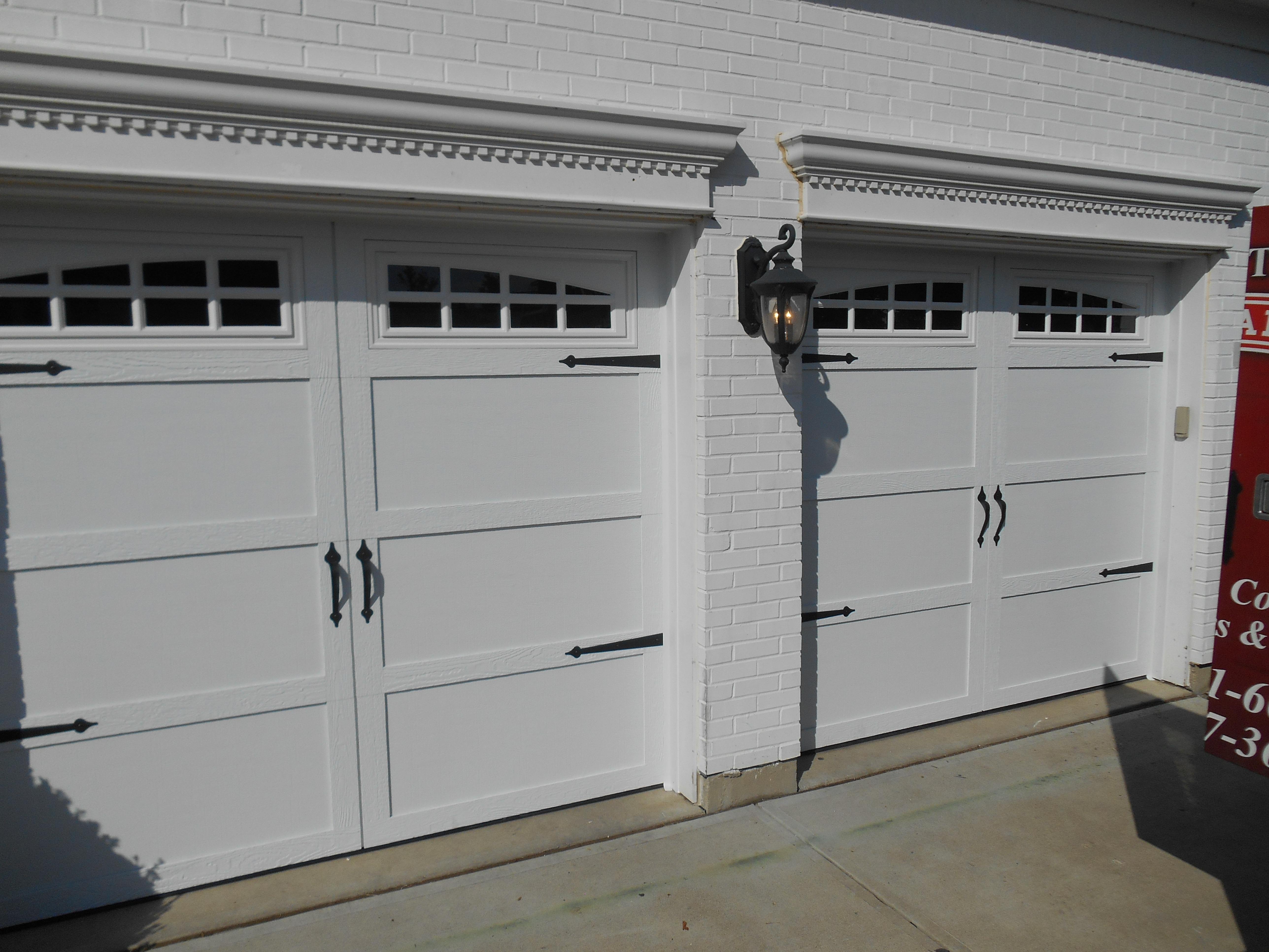 Court Yard Collection 371A Series Color: White Somerton Window Trim