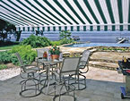 Retractable awnings for residential use