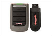 Garage door remote control – door report