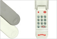 Garage door opener wireless keypad