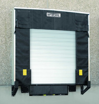 Commercial dock shelters
