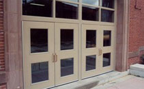 Commercial steel entry door product information