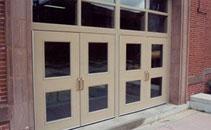 Commercial steel entry door product information