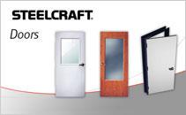 Commercial steel entry doors and door frames