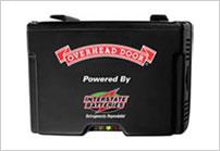 Garage door emergency battery back-up