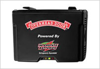 Garage door emergency battery back-up