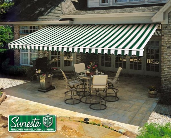 Charming Retractable Awnings For Patios