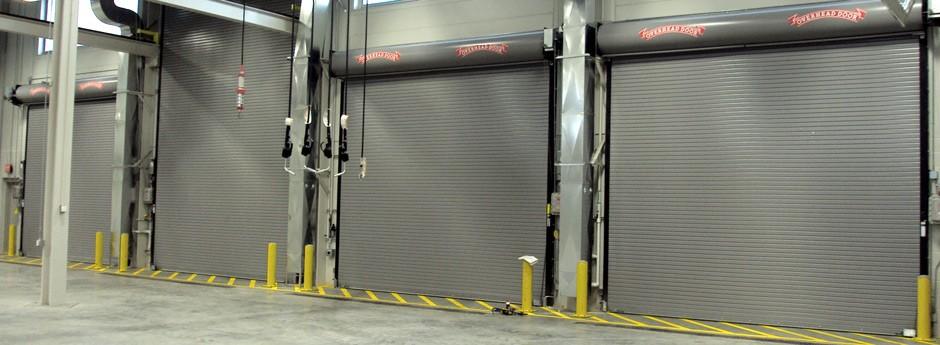 rolling steel doors – commercial use