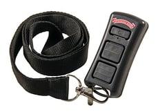 LED garage door opener remote control