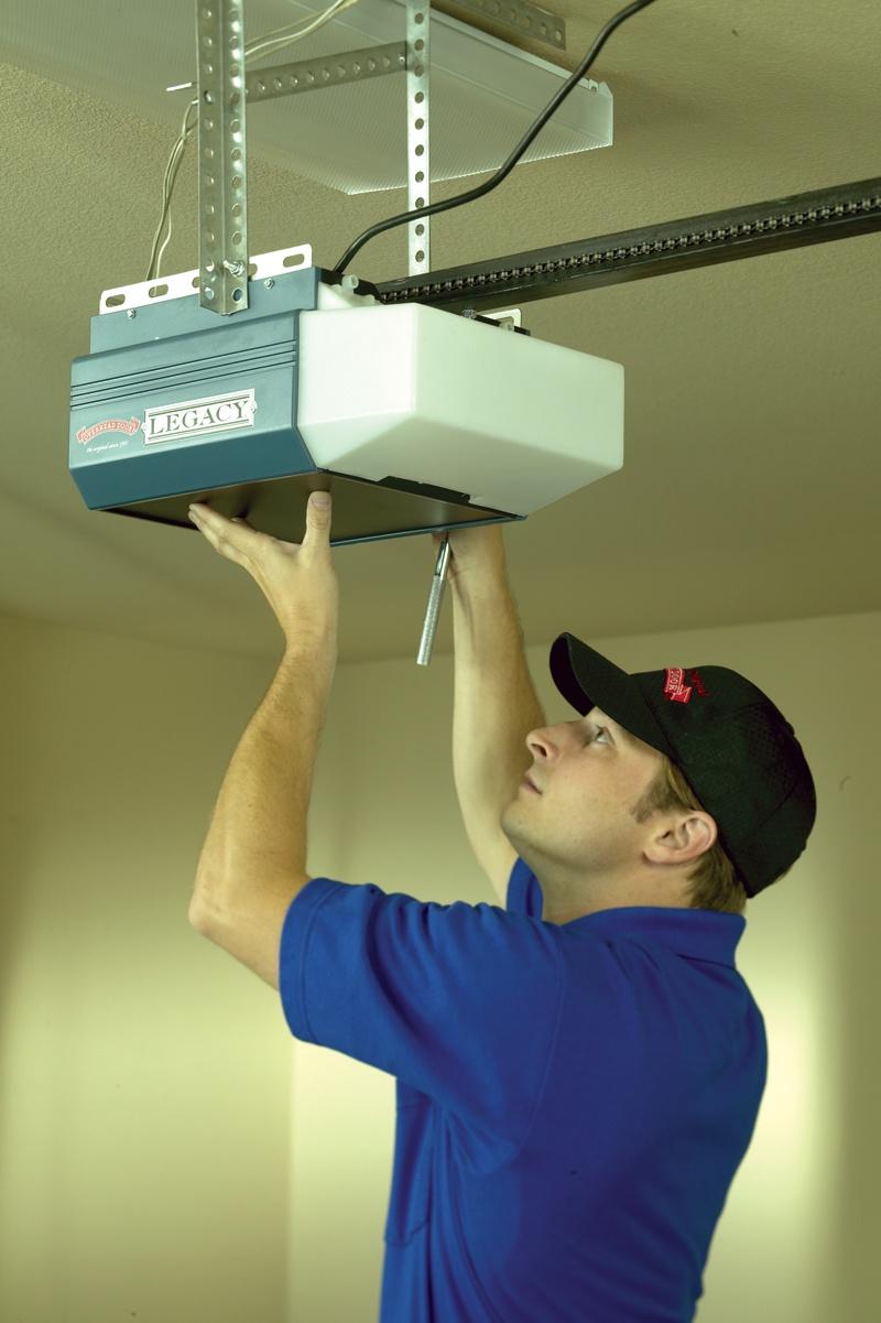 Garage door opener service and repair