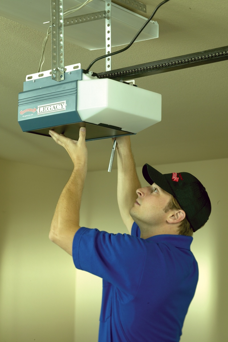 Garage door opener service and repair