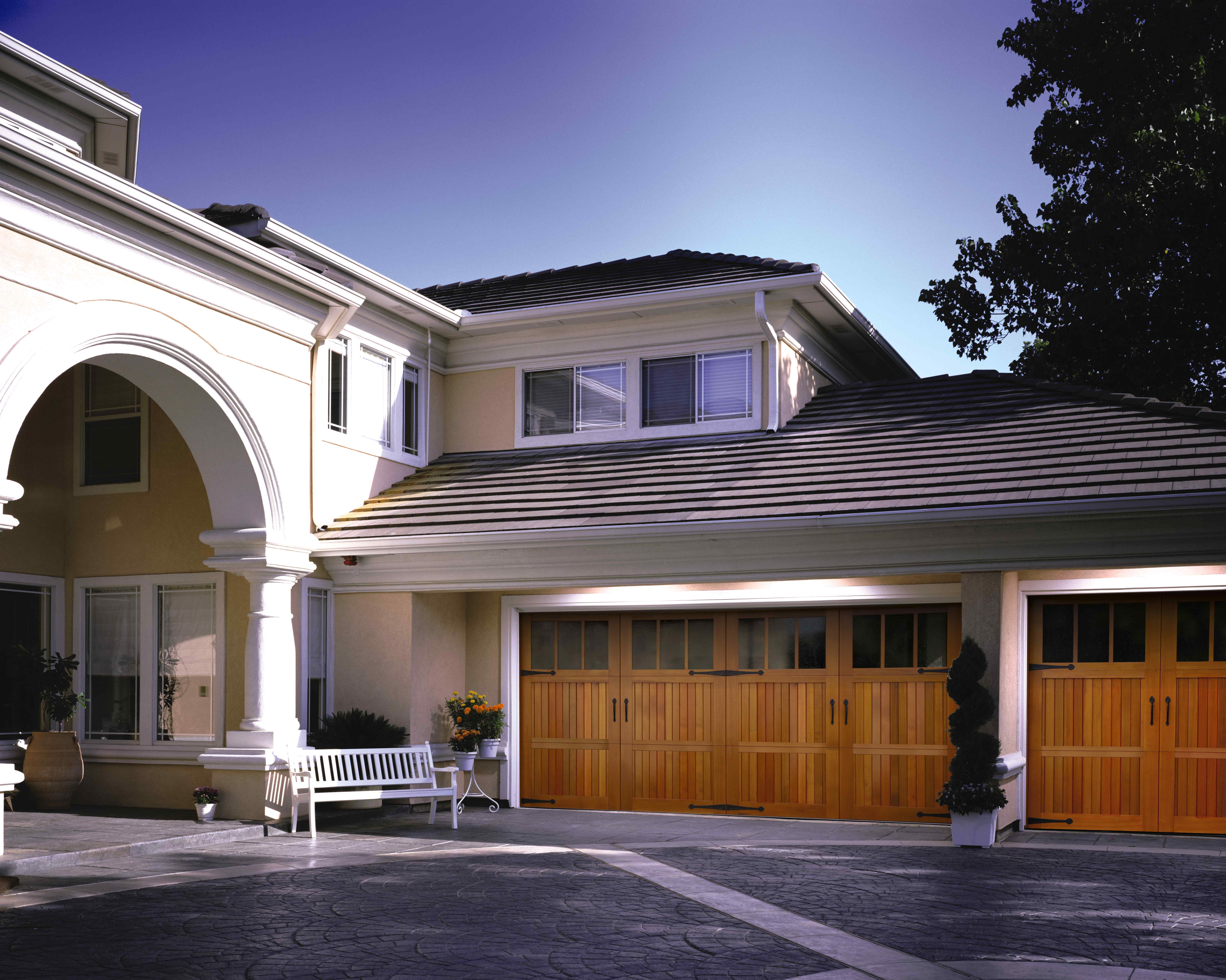 Signature Collection wood garage doors - residential