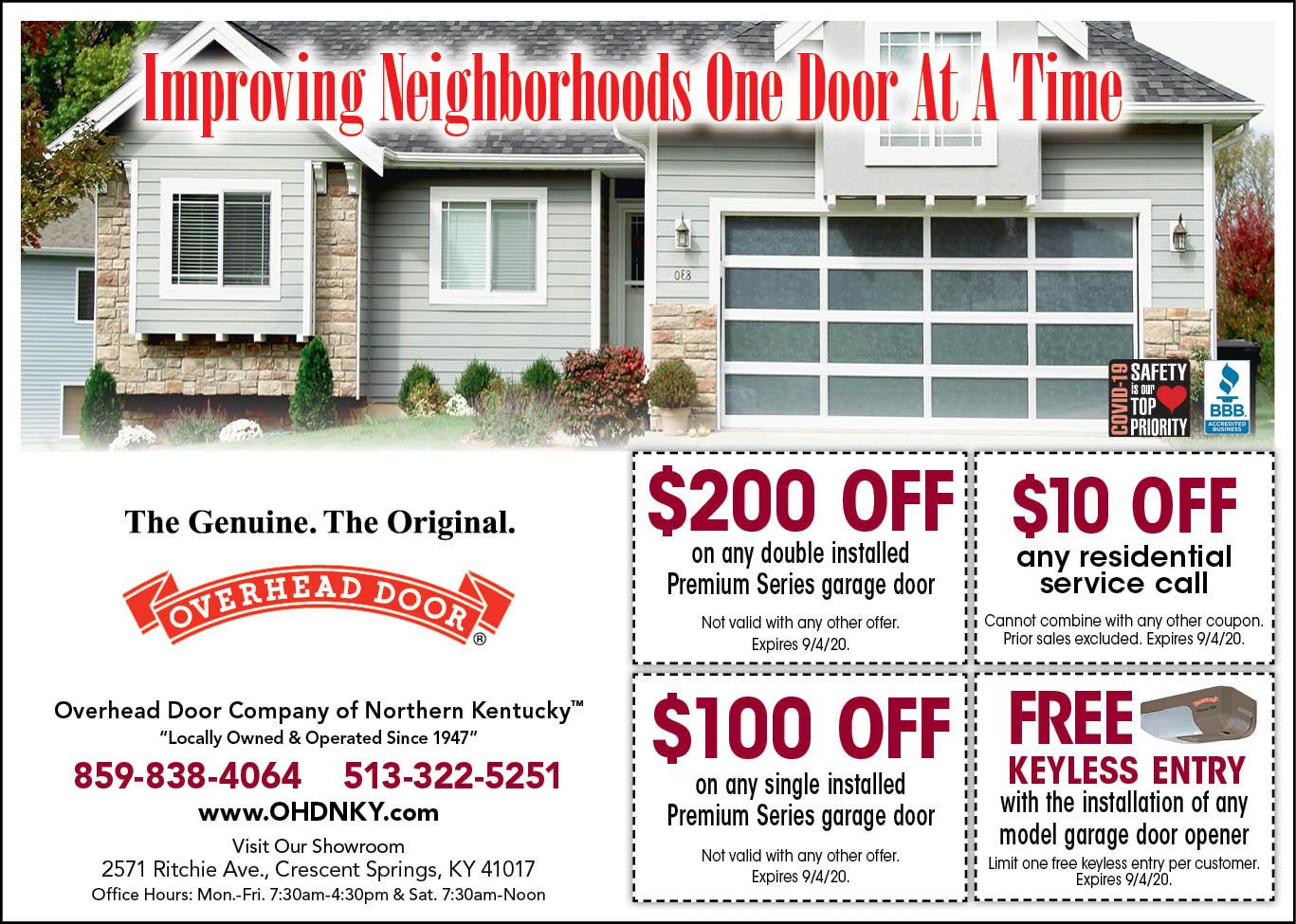 Garage Door Coupon offers