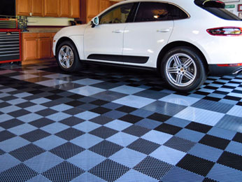 Garage flooring solutions customized to your home's style