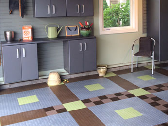 Overhead Door Company of Northern Kentucky offers a range of colors so you can customize your garage floor.