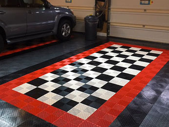 Create a garage floor design that reflects your unique style and enhances your home's appearance and value.