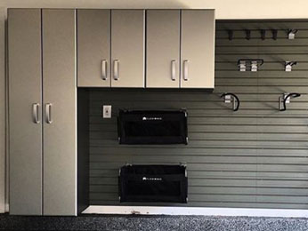 Garage storage cabinets improve your home's organization and storage.
