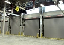 Rolling steel doors for business and commercial needs