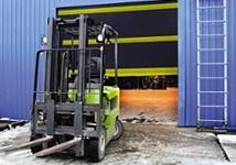 Cincinnati garage door solutions for residential, business, and commercial needs including high-speed doors