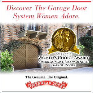 Discovery the Garage Door System Women Adore – Cincinnati Garage Door Company Overhead Door of Northern Kentucky Women's Choice Award Winner