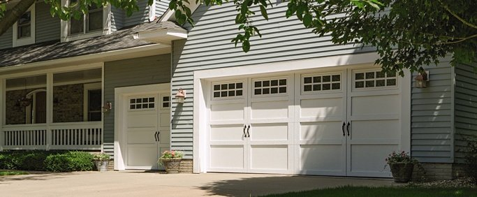 Cincinnati residential garage door replacement