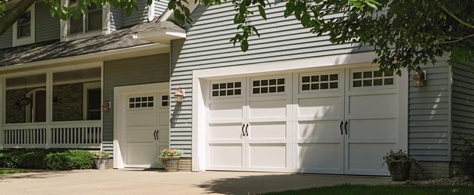 Cincinnati residential garage door replacement
