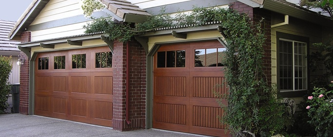 wood garage doors sales and installation